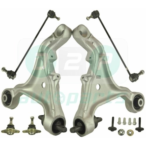 FOR VOLVO S60 V70 MK2 FRONT LOWER SUSPENSION WISHBONE TRACK CONTROL ARMS KIT