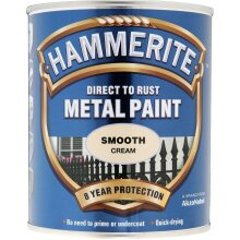 Hammerite Direct to Rust Metal Paint Smooth Finish Urban Night 750ml