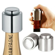 Reusable Leakproof Stainless Steel Bottle Stopper Wine Saver Prosecco Champagne