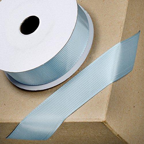 1m//5m//10m//20m//100m Berisfords Smoke Grey 10mm Double Sided Satin Ribbon
