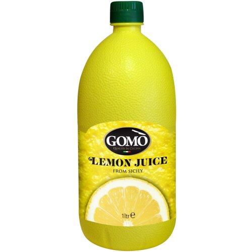 Gomo Sicilian Lemon Juice - 6x1ltr