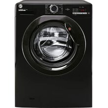 Hoover H-Wash 300 H3W4102DBBE Freestanding Washing Machine, Large Capacity, 10 kg Load, 1400 rpm, Black