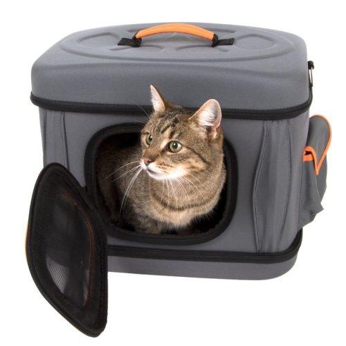Collapsible Cat Carrier Bag Small Pets Shoulder Soft Safe