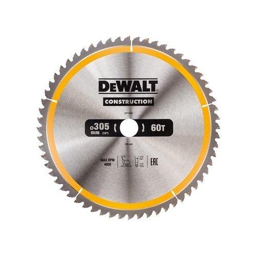 DeWalt DT1960-QZ Construction Circular Saw Blade 305 x 30mm x 60T