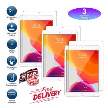 (3 Pack) Anti Shatter Anti Fingerprint Anti Scratch 9H HD Tempered Glass Screen Protector For Apple iPad 9.7 6th Generation (2018) / 5th Gen (2017)