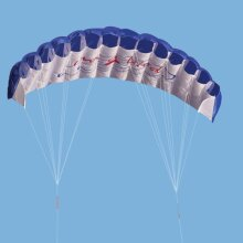 Rainbow Pattern Parachute-Outdoor Skydiving Toy For Adults