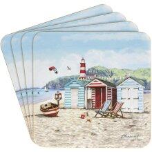 New Sandy Bay Design Set of  Four  Coasters