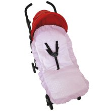 Broderie Anglaise Seat Liner Cover Compatible with Britax Buggy Pushchair Pink