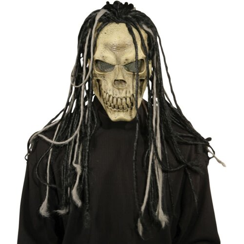 Dead Dread Mask W/Hair For Halloween