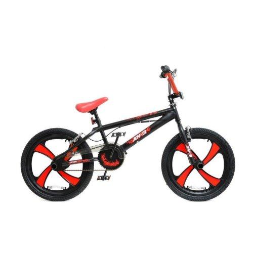 "(Black / Red) XN BMX Freestyle 20"" MAG Wheel Kids Bike 4 Colours"