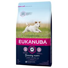 Eukanuba Growing Puppy Small Breed - Chicken Dry Mix 3 kg