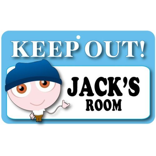 Keep Out Door Sign - Jack's Room