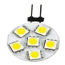 12 V 6-LED No.JC10 Disc Replacement Bulb, Bright White
