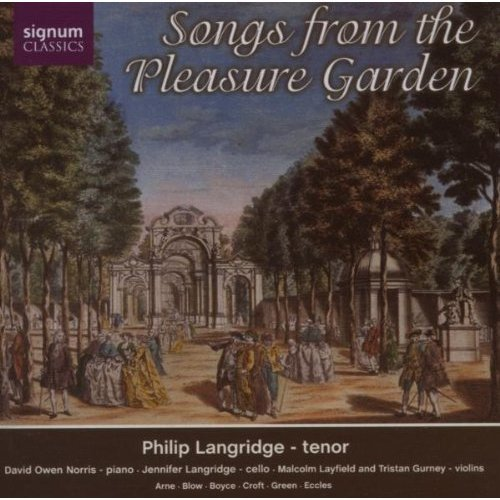 aniel Purcell - Songs from the Pleasure Garden [CD]
