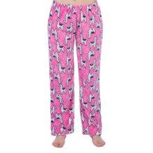 Childrens Soft Fleece Llama Lounge Pants