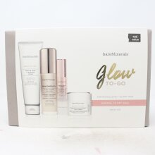 Bareminerals Glow To-Go Skin Care Set  / New With Box