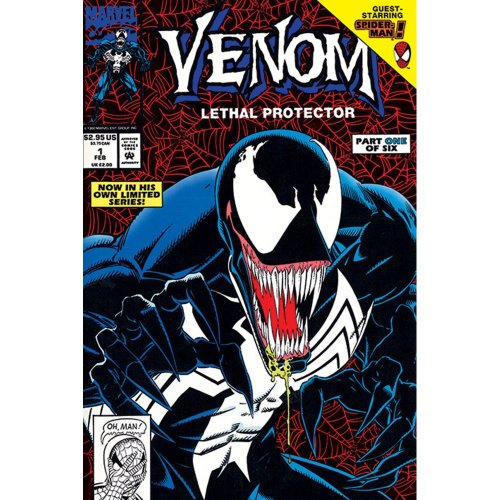 "Poster - Studio B - Venom - Lethal Protector Part 1 36x24"" Wall Art P4381"