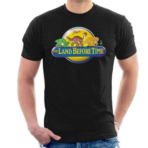 The Land Before Time Logo Men's T-Shirt