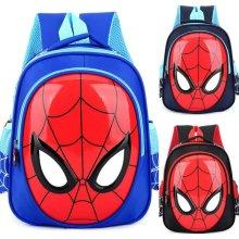Spiderman Backpack Kids Boys Girl School Rucksack Shoulder Bag