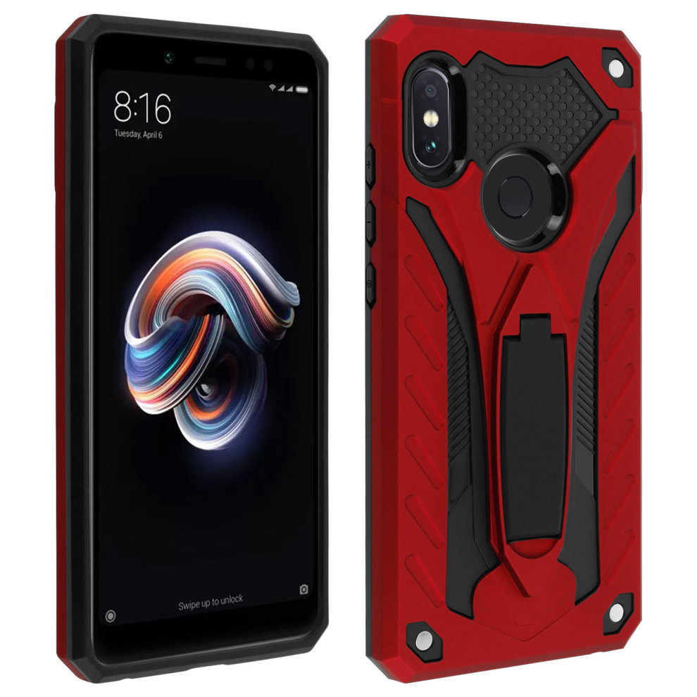 Xiaomi Redmi Note 5 Hybrid Protection Case Phantom Forcell Red