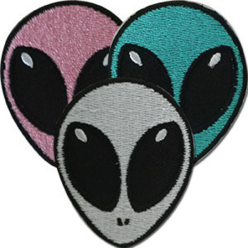 Patch - Aliens - Cute Assorted 3 Pack Icon-On p-dsx-4823