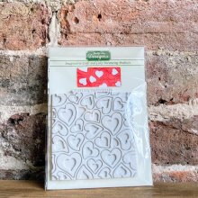 Katy Sue HEARTS Design Mat Silicone Sugarcraft Mould - Valentine - Love