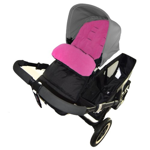 Footmuff//Cosy Toes Compatible with Jane Muum Pushchair Fire Red