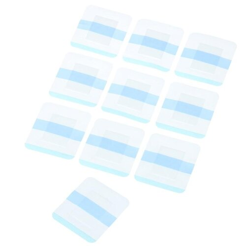 (2) 10pcs Medical Transparent Tape Adhesive Plaster Breathable Waterproof High Quality