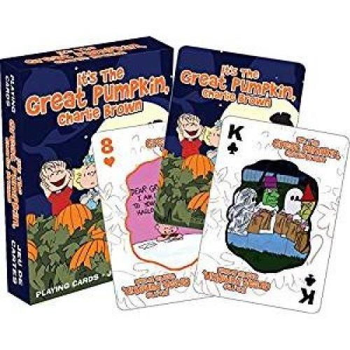 Playing Card - Peanuts - Great Pumpkin Poker New 52462
