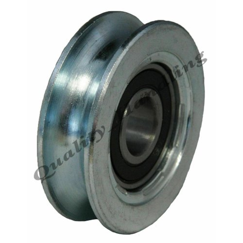 Sliding gate wheel pulley wheel 50mm Round groove steel wheel