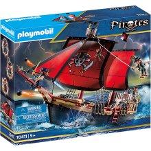Playmobil 70411 Pirates Skull Pirate Ship