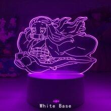 Newest Acrylic Led Night Lamp Anime demon slayer