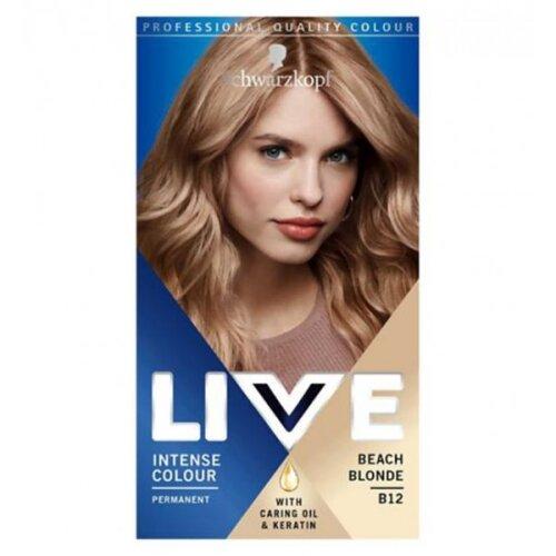 Schwarzkopf Live Beach Blonde B12 Intense Colour