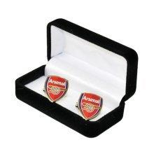 Arsenal Crest Cufflinks - Football Official Mens Fc Gift Club -  cufflinks football official crest arsenal mens fc gift club