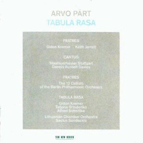 Rvo Part - Arvo Part: Tabula Rasa [CD]