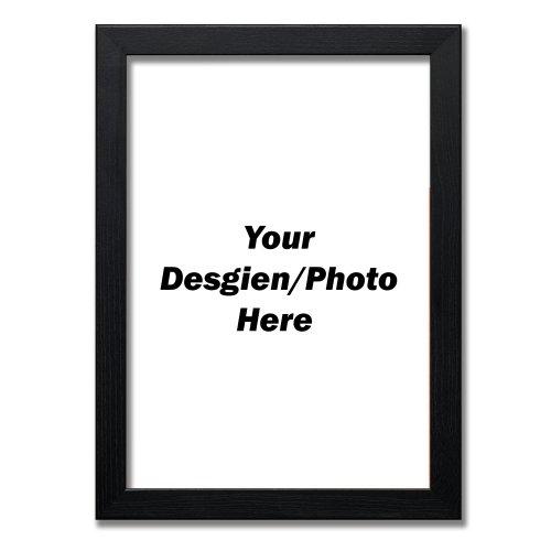 (Black, A4 - 297x210 mm) A1 A2 A3 A4 A5 A6 Black Photo Frames White Frames