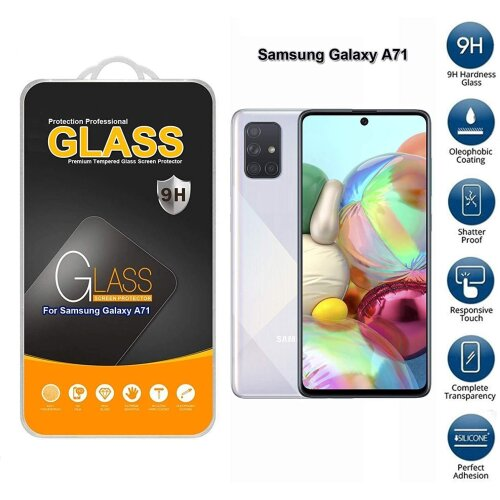 For Samsung Galaxy A71 Tempered Glass Screen Protector