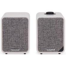Ruark Audio MR1 MK2 Active Bluetooth Speakers Soft Grey
