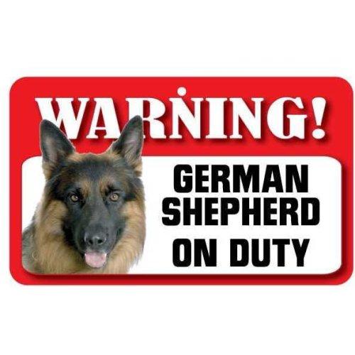 German Shepherd Pet Sign
