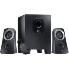 Logitech Z213 2.1 Speaker System 7 W Rms Desktop 65 Hz To 20 Khz 980-000942