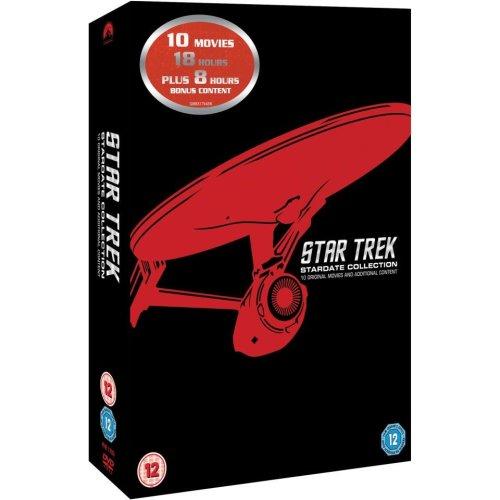 Star Trek 1 to 10 Movie Collection (10 Films) DVD [2013]