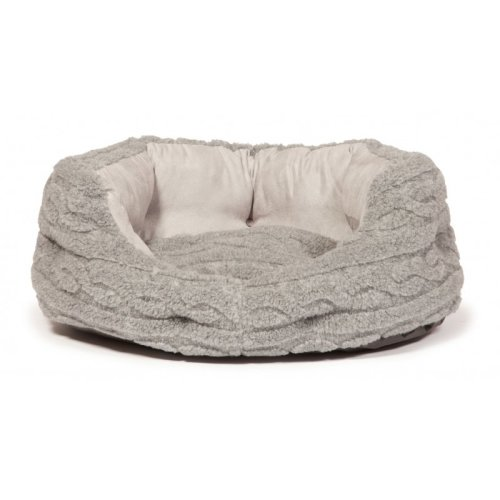 Bobble Soft Pewter Deluxe Slumber Bed 45cm (18'')