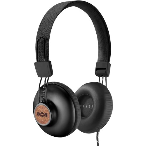 House of Marley Positive Vibration 2 Headphone, Black