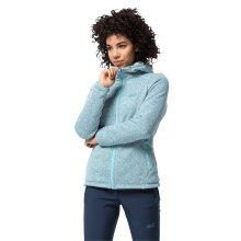Jack Wolfskin Women's Lakeland Lined Fleece Jacket - Frosted Blue
