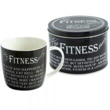 Fitness Fanatic Mug In A Tin
