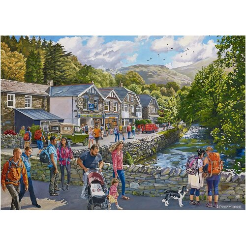 Falcon Deluxe Glenridding Jigsaw Puzzle (1000 Pieces)