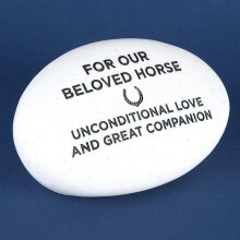 Memorial Pebble Horse
