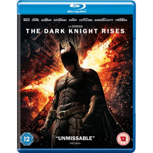 Batman - The Dark Knight Rises Blu-Ray [2012] - Used