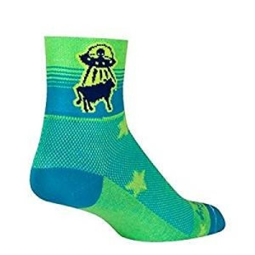 "Socks - Sockguy - Classic 3"" - Beef Me Up S/M Cycling/Running"
