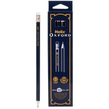 1 Pack - Helix P35010 Oxford Hb Pencils - Pack of 12